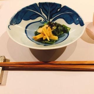 前菜(旬の味  たき下)