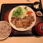 もろみチキンの炭火焼き定食(1.5倍)