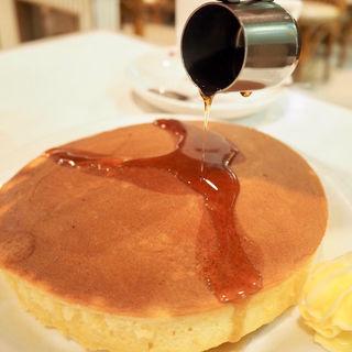 手作りホットケーキ Lサイズ(モナミ (COFFEE & DINING Monami、Cafe & Bar Monami))
