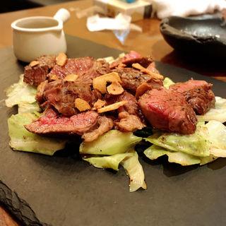 牛肩ロースステーキ(なべや久吉 (キュウキチ))