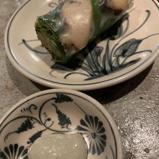 エビの生春巻き 10種のハーブ&野菜(An Di)
