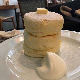 リコッタチーズパンケーキ(Micasadeco&Cafe )