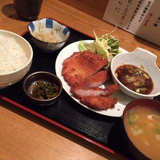 黒豚カツ定食(喜あじ 江戸堀店 )