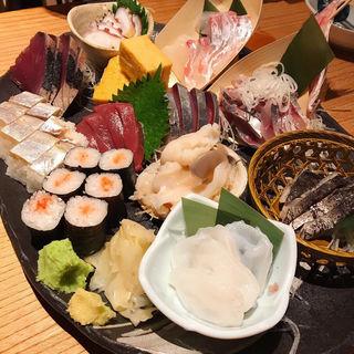 六点盛りスペシャル(巣立つ魚金 赤坂店)