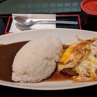 かつ煮カレー(とんかつ 多津美)