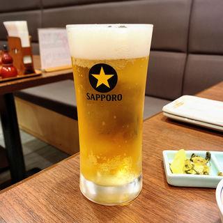 サッポロ生ビール(鳥ぎん 渋谷店 (とりぎん))