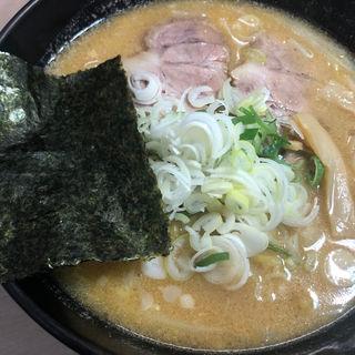 味噌ラーメン(麺屋 開高 さっぽろテレビ塔店)