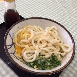 玉卵うどん(小)(大川製麺所 )
