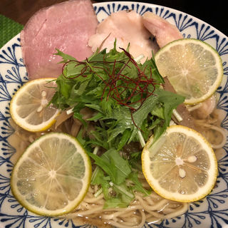 塩ラーメン(イワッチーナ邸 La麺Cucina 本町・淀屋橋)