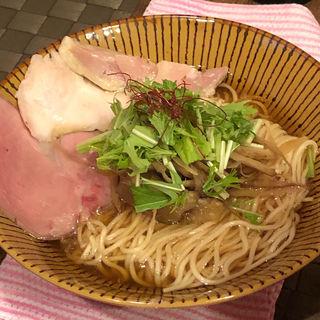 醤油ラーメン(イワッチーナ邸 La麺Cucina 本町・淀屋橋)