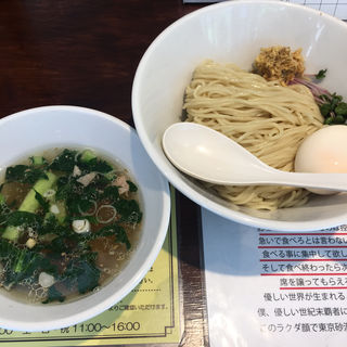 塩生姜つけ麺(塩生姜らー麺専門店 MANNISH (マニッシュ))