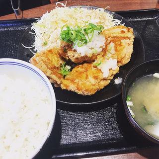 おろし唐揚げ定食(吉野家 祖師ケ谷大蔵駅前店 )