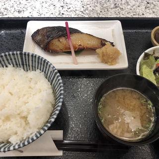 ぎんだら京粕漬定食(日本料理 魚久 本店 (うおきゅう))