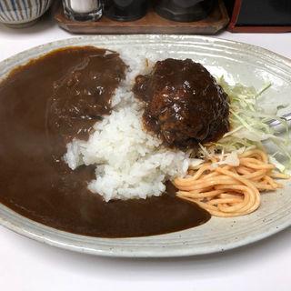 ハンバーグカレー(キッチン台栄 (ダイエイ))