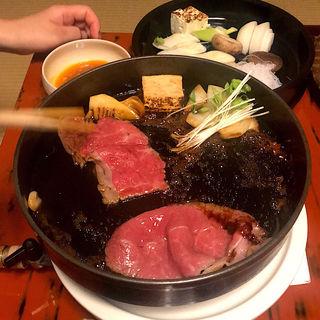 すき焼きコース竹(すき焼 日山 (ひやま))