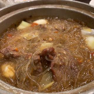 牛肉と春雨のXO醬煮込み 土鍋仕立て 小サイズ(菜香新館)