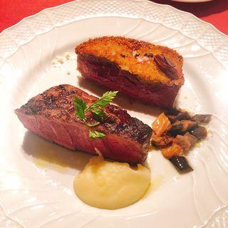 熟成肉のステーキ&カツレツ(カルネヤサノマンズ )