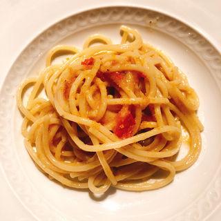 サルデーニャ島産カラスミのスパゲッティ(カルネヤサノマンズ )