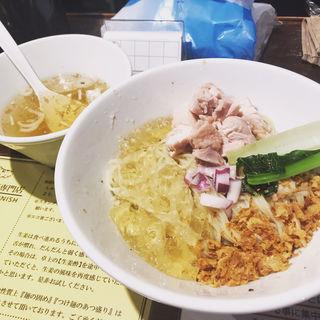 冷たい塩生姜油そば(塩生姜らー麺専門店 MANNISH (マニッシュ))