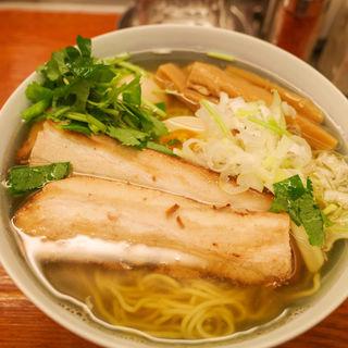 和風焼豚柳麺(麺屋 ひょっとこ )