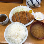 ロースかつ定食(大)