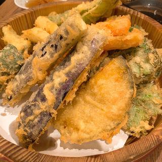 野菜天ぷら盛り合わせ(弥平 鶴屋町 )