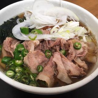 肉うどん(稲浪 (いなみ))