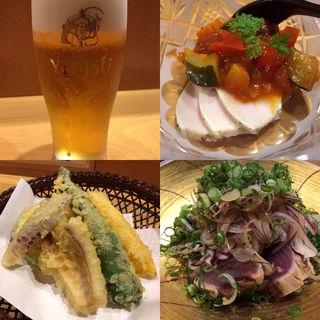 おまかせ料理3品(心の台所 たかしげ)