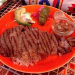 メキシコ産サーロインステーキ(メキシコ酒場 べべドール)