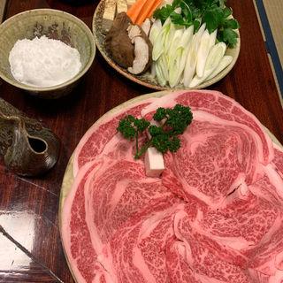 すき焼き(松阪 海津 本店 (まつざか かいづ))