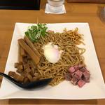 まぜそば(汁なし麺)(並)1.5玉