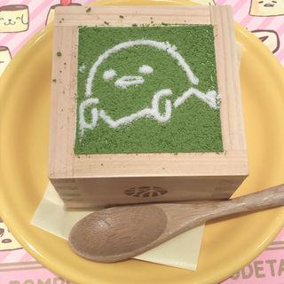 宇治抹茶ティラミス(ポムポムプリンカフェ 横浜店 )