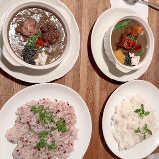 野菜カレー(薬膳カレーじねんじょ 谷中店 (ヤクゼンカレージネンジョ))