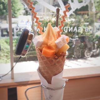ソフトクリーム エキゾチック(ピエール・エルメ・パリ Aoyama (PIERRE HERME PARIS))
