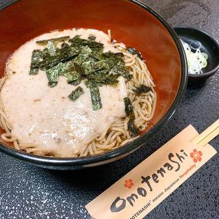 自然薯そば(栄茶屋)