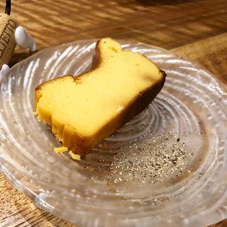 チーズケーキ(オステリア エ バール ポレンタ )