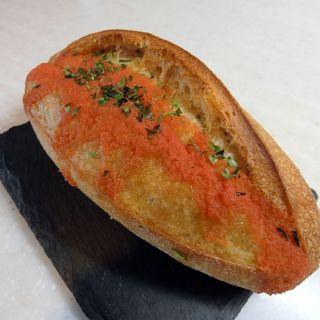 明太子バターフランス(パン・オ・トラディショネル 西武渋谷店)