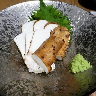 自然薯 皮付きお刺身(十割蕎麦 玄盛)