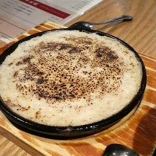 自然薯チーズステーキ(十割蕎麦 玄盛)