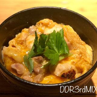 ミニ親子丼(秋田比内地鶏生産責任者の店 本家あべや 秋田店 )