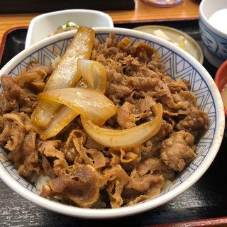 牛丼定食(牛心 駅前店)
