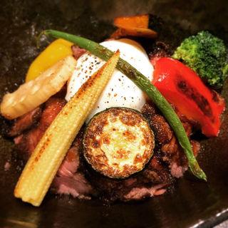 自家製ローストビーフ丼(Dining&Cafe Sweets Okada)
