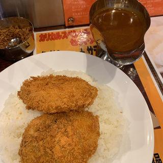 コロッケカレー(カリカル 新橋本店 )