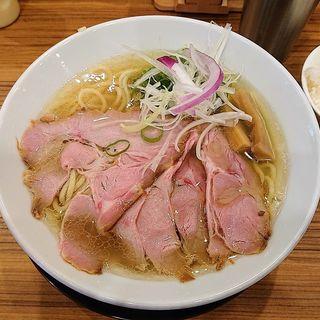 塩鶏そば(中華そば ココカラサキゑ)