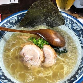 塩らーめん(限定:細麺)(らーめん殿 )