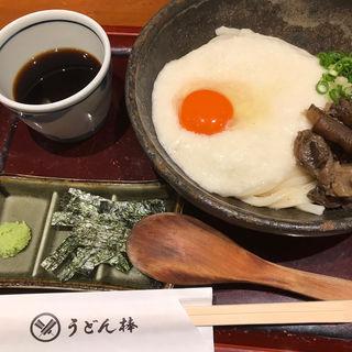 牛すじとろろうどん(うどん棒 大阪本店 )