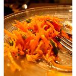 にんじんとオレンジのポルトガル風サラダ