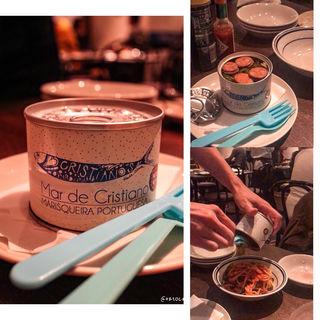 本日の自家製缶詰 ナポリタン(マル・デ・クリスチアノ)