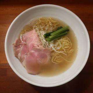 塩ラーメン(麺屋 一徳 (いっとく))