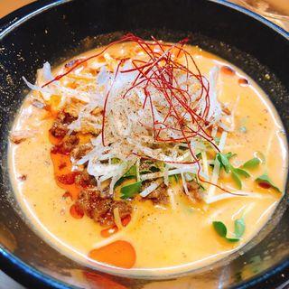 冷製豆乳担々麺(焼鳥 鈴音)